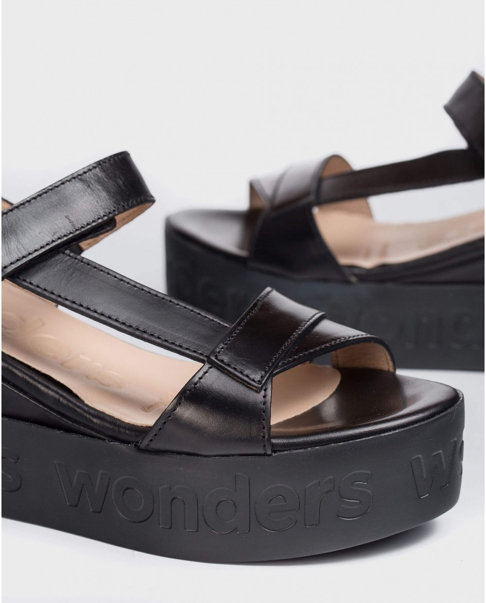 Sandal with Velcro strap