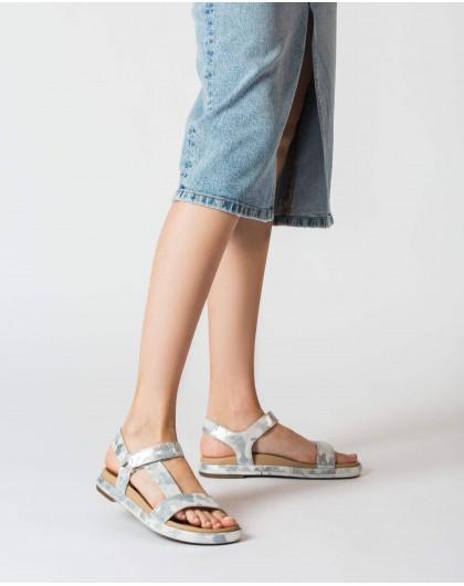 Wonders-Women-Embossed BIO sandal