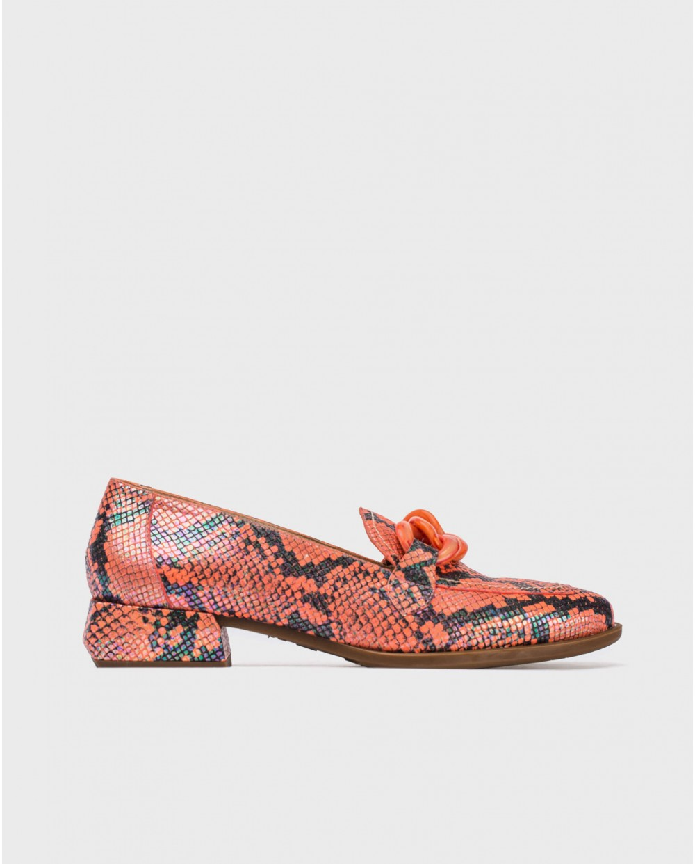 Wonders-Outlet-Moccasins with chain