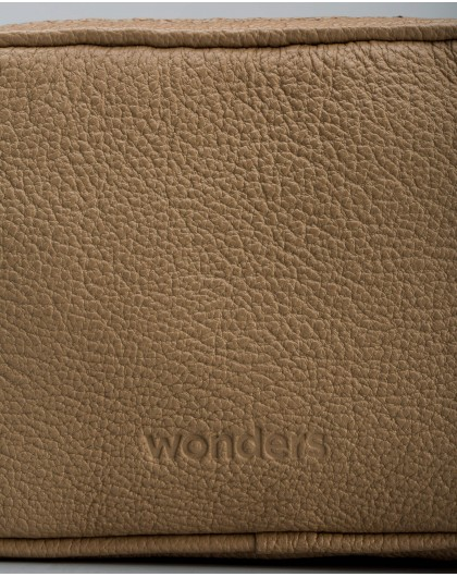 Wonders-Bolsos-Mini bolso bandolera piel granulada