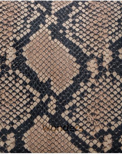 Wonders-Bags-snakeskin leather clutch