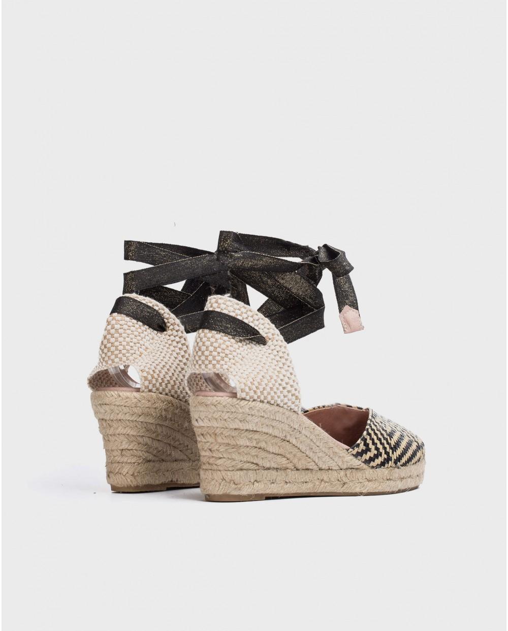 Jute Rhinestone sandal