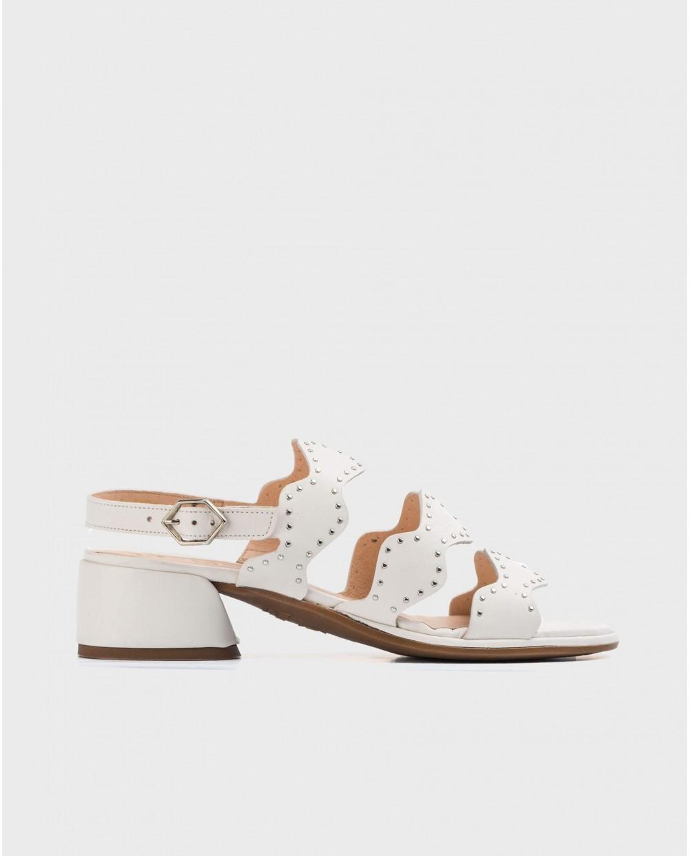 Wonders-Sandals-Sandals with rhinestone detail