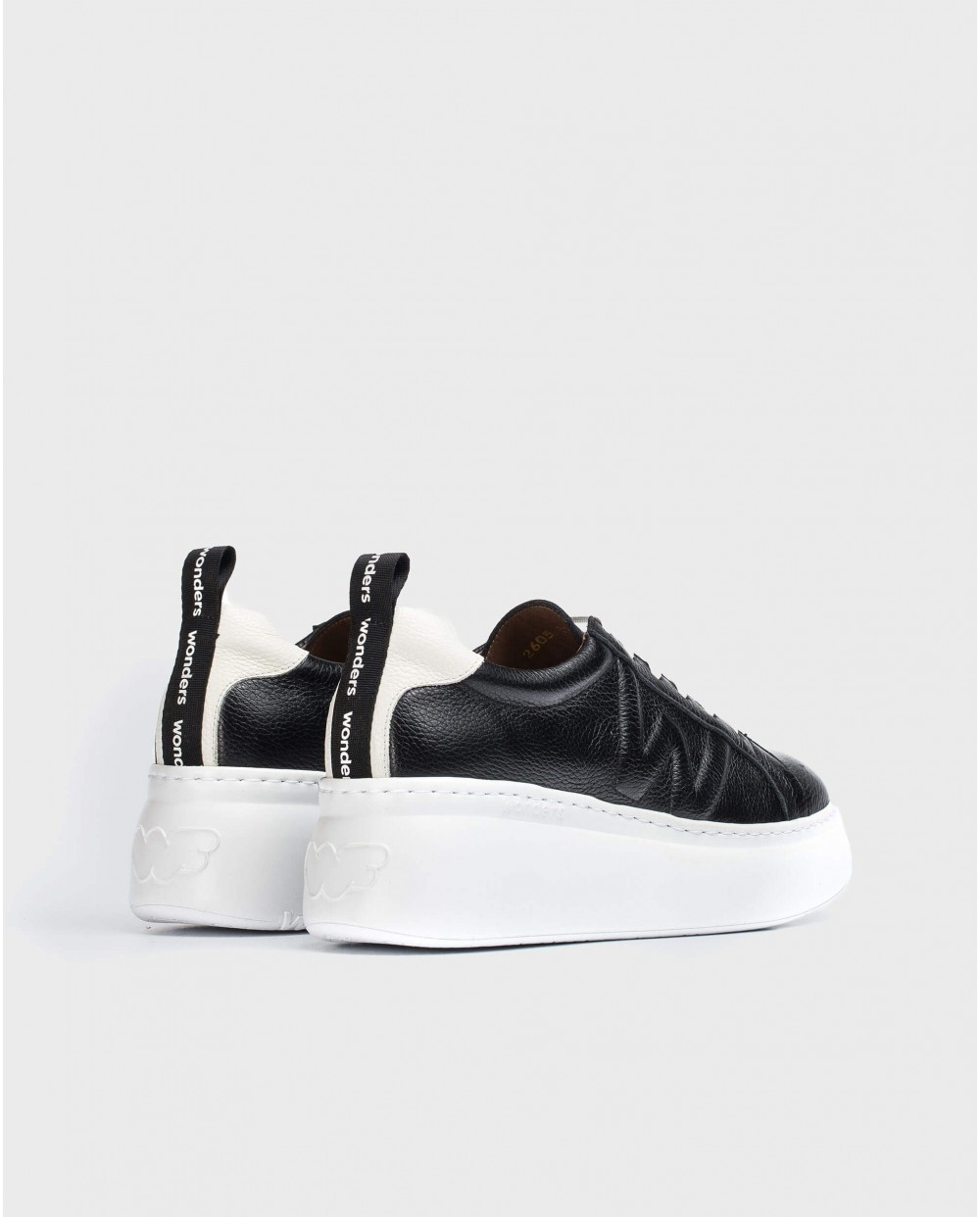 Wonders-Ready to wear-Dorita Black and White Trainers