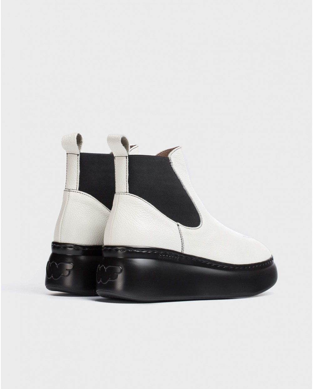 Wonders-Ankle Boots-white Cher Ankle Boot