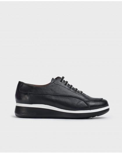 Wonders-Zapatos planos-Deportivo Boom Negro