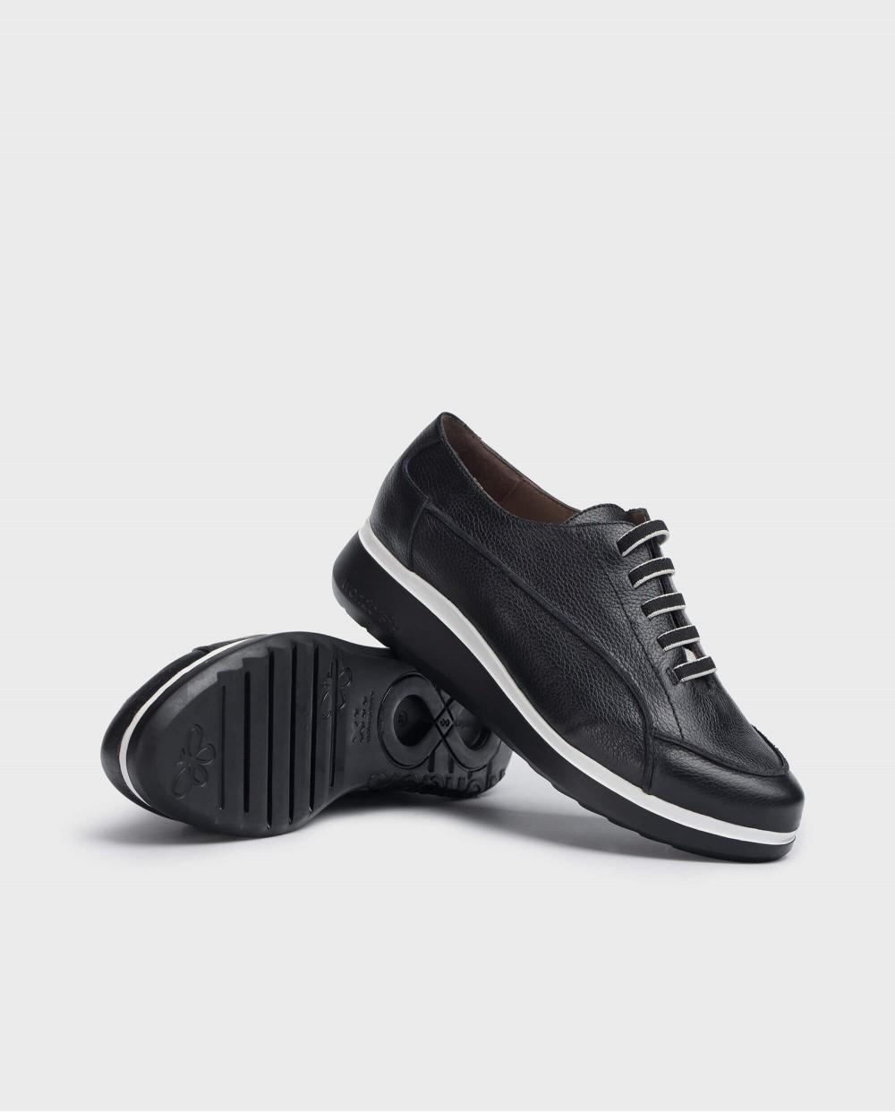 Wonders-Ready to wear-Black Boom Sneaker