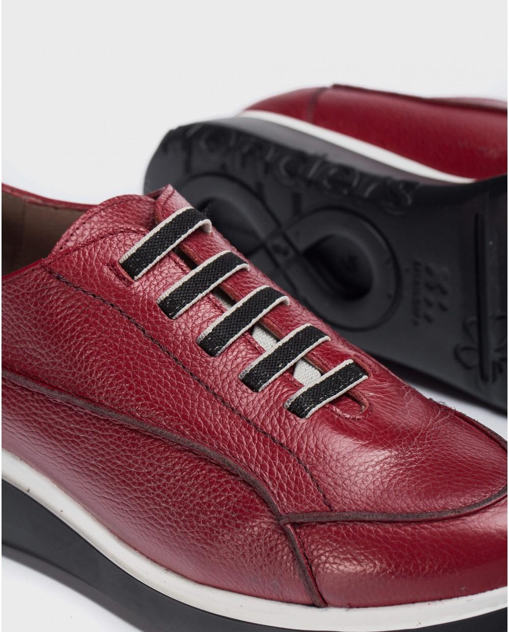 Wonders-Ready to wear-Red Boom Sneaker
