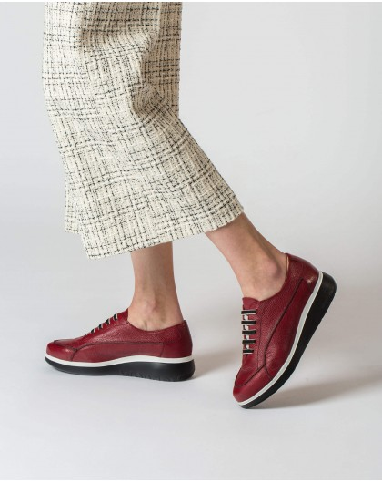 Wonders-Zapatos planos-Deportivo Boom Rojo