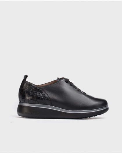 Wonders-Zapatos planos-Deportivo Mer negro