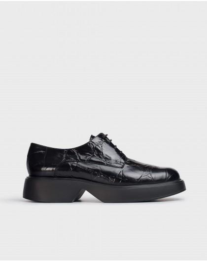 Wonders-Zapatos planos-Blucher Sonic Negro