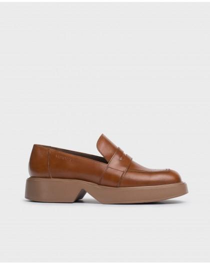 Wonders-Zapatos planos-Mocasín Hero Marrón