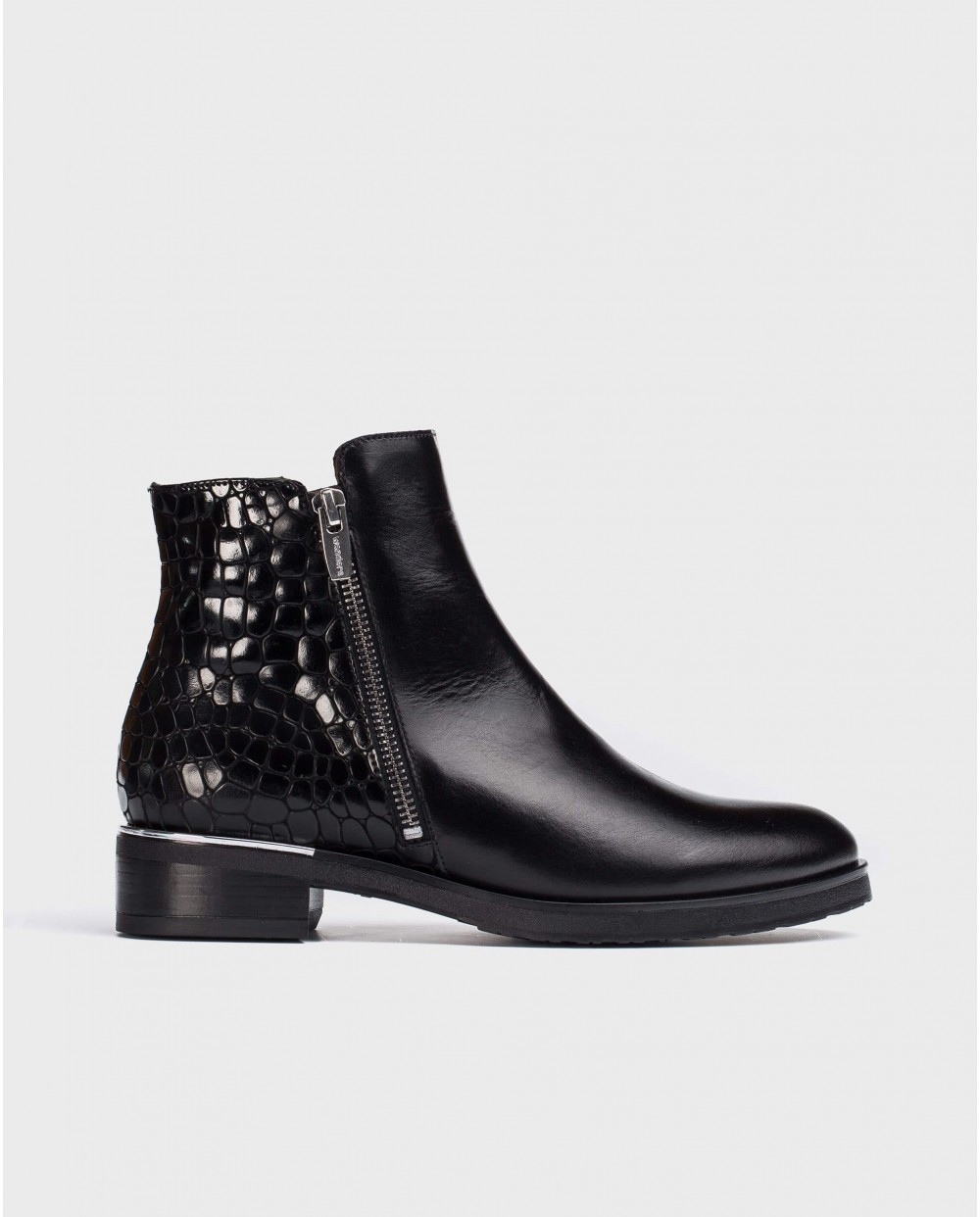 Wonders-Ankle Boots-Black Best Ankle Boot