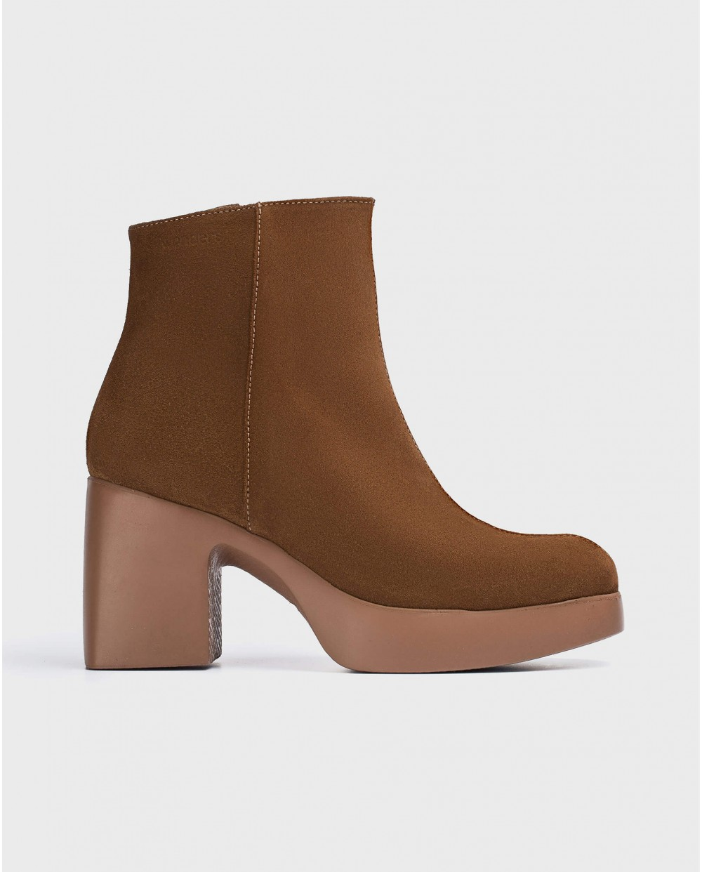 Wonders-Ankle Boots-Brown Mex Ankle Boot