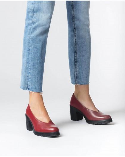 Wonders-Heels-Red Karma Shoe