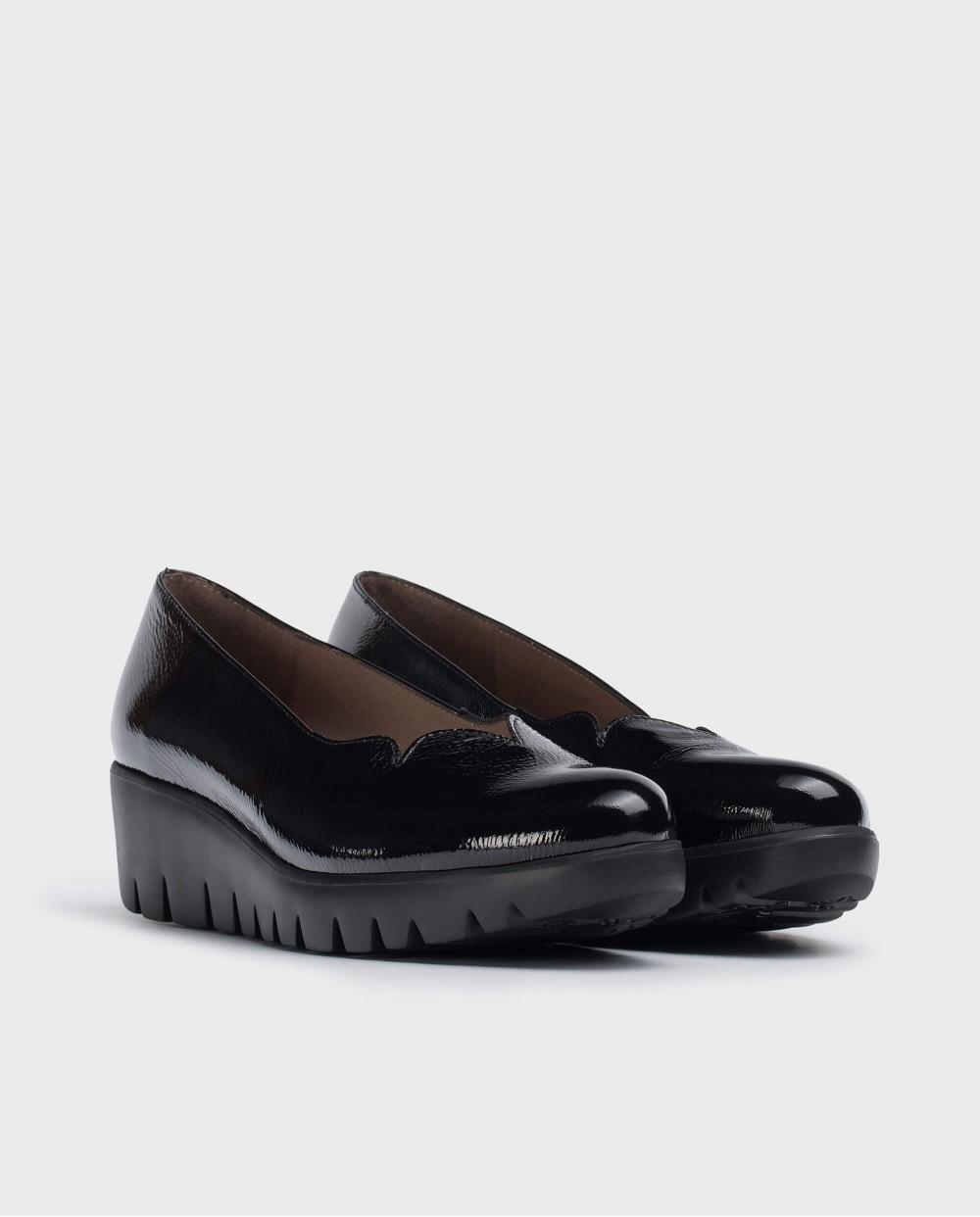 Wonders-Women-Black Fly Shoe