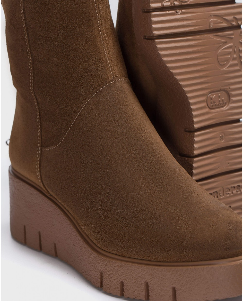 Wonders-Ankle Boots-Brown Aitana Ankle Boot