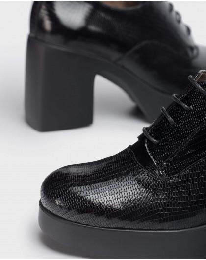 Wonders-Heels-Black Loira shoes.