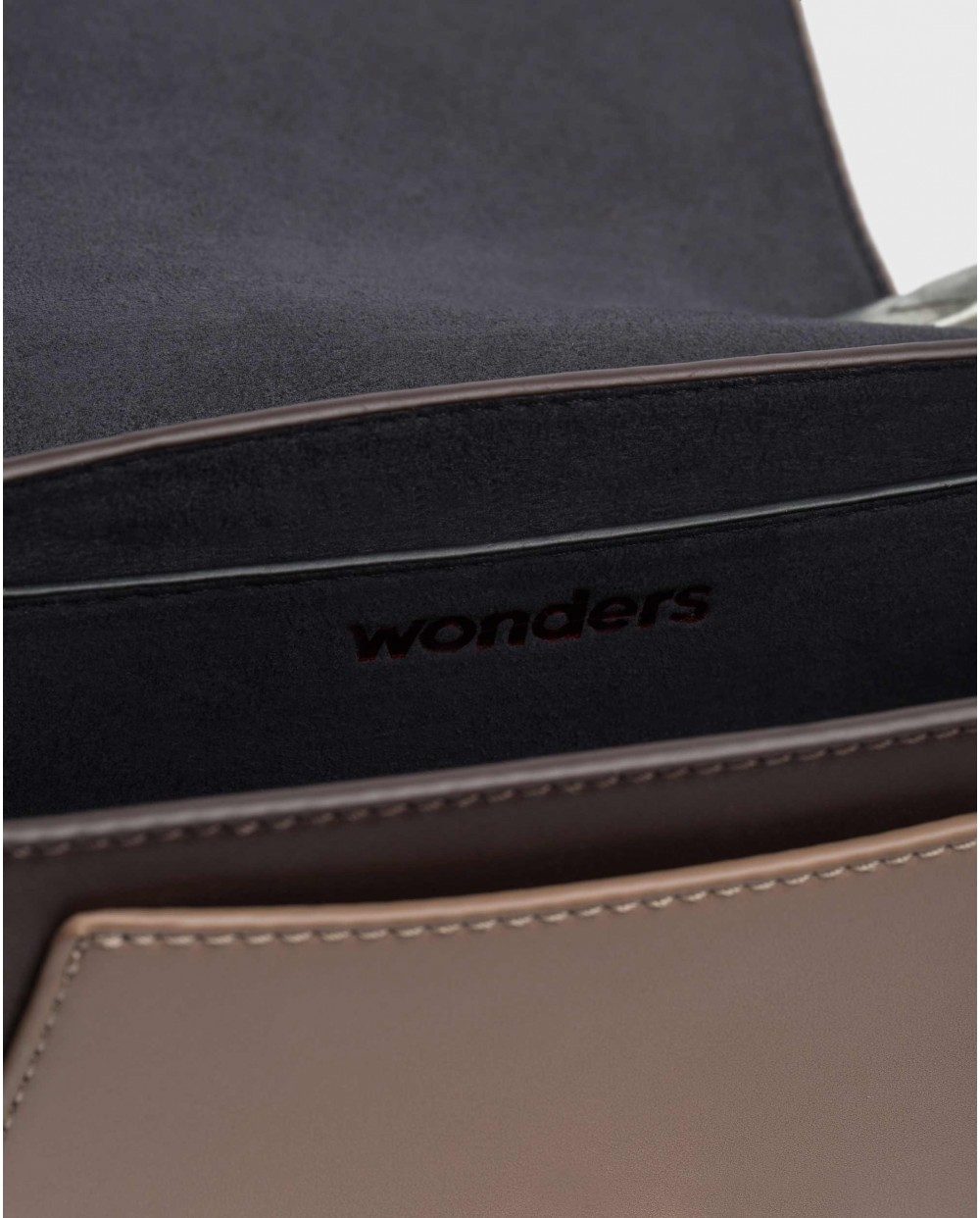 Wonders-Bolsos-Bolso Harper Marrón
