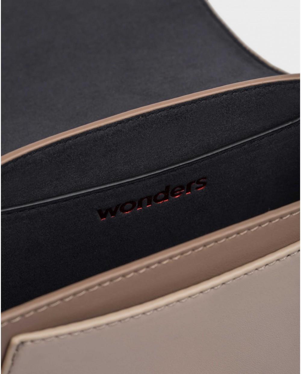 Wonders-Bolsos-Bolso Harper Taupe