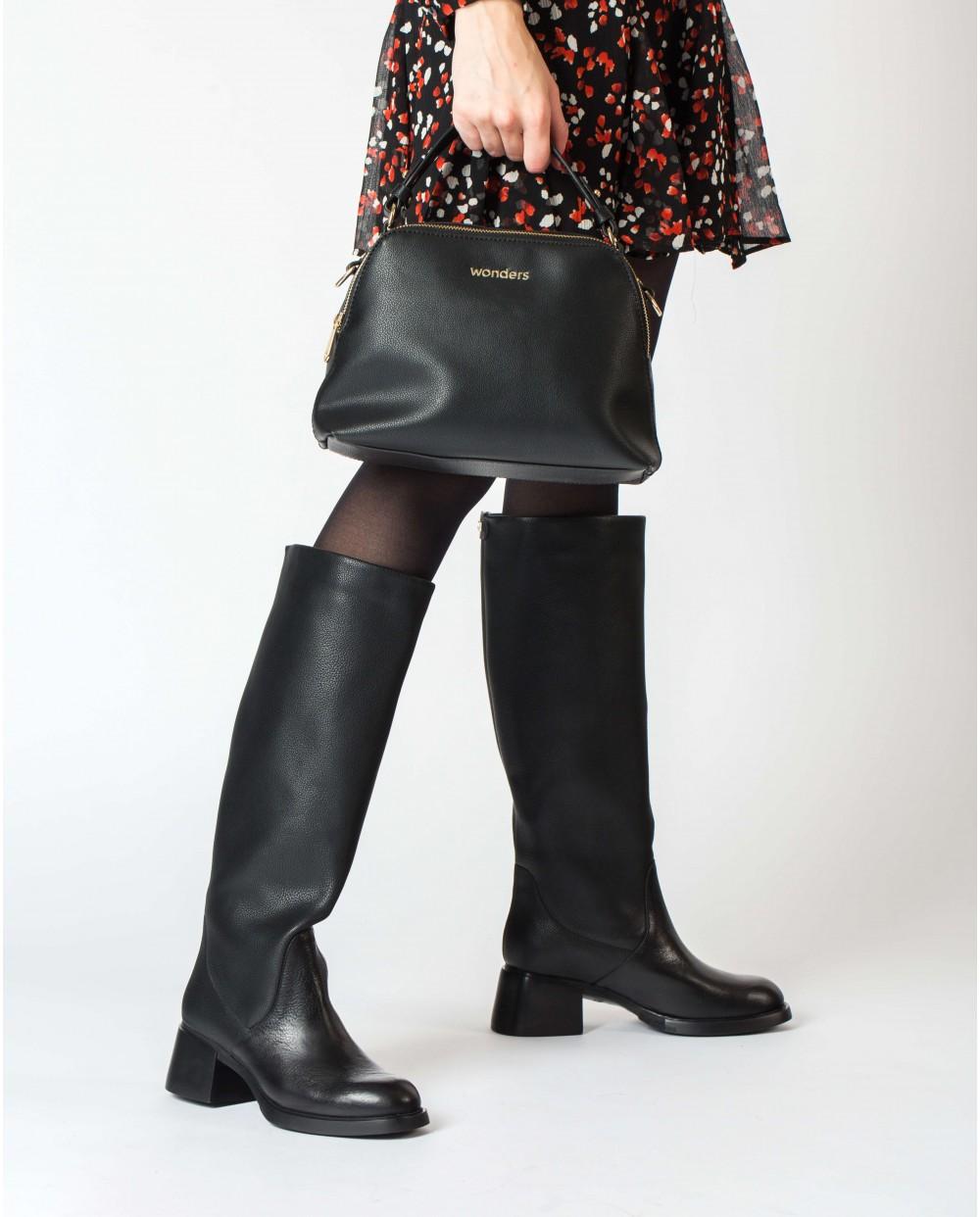 Wonders-Bags-Black Iris Bag