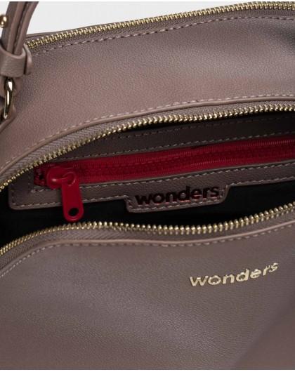 Wonders-Bolsos-Bolso Iris Marrón