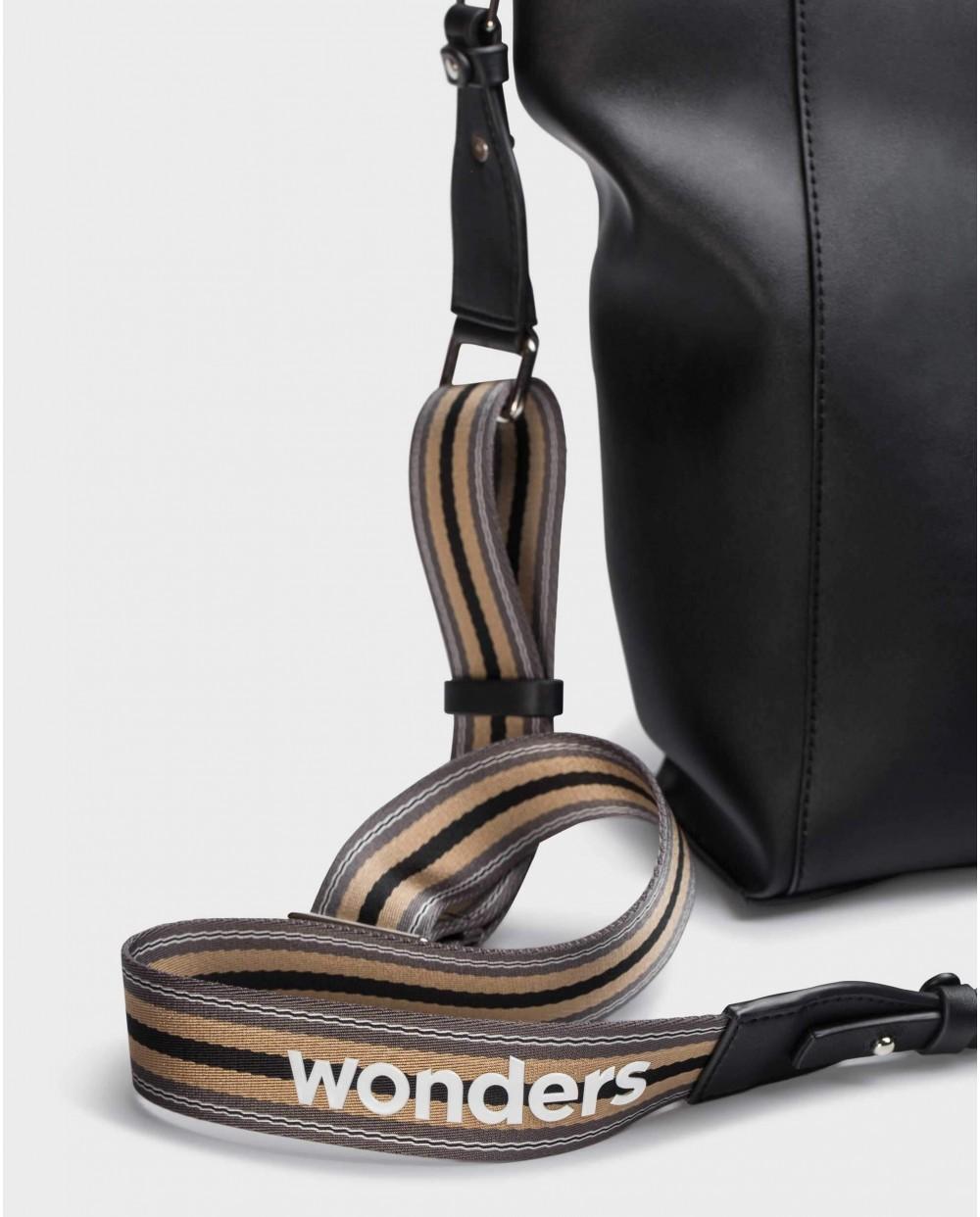 Wonders-Bolsos-Bolso Zuri Negro
