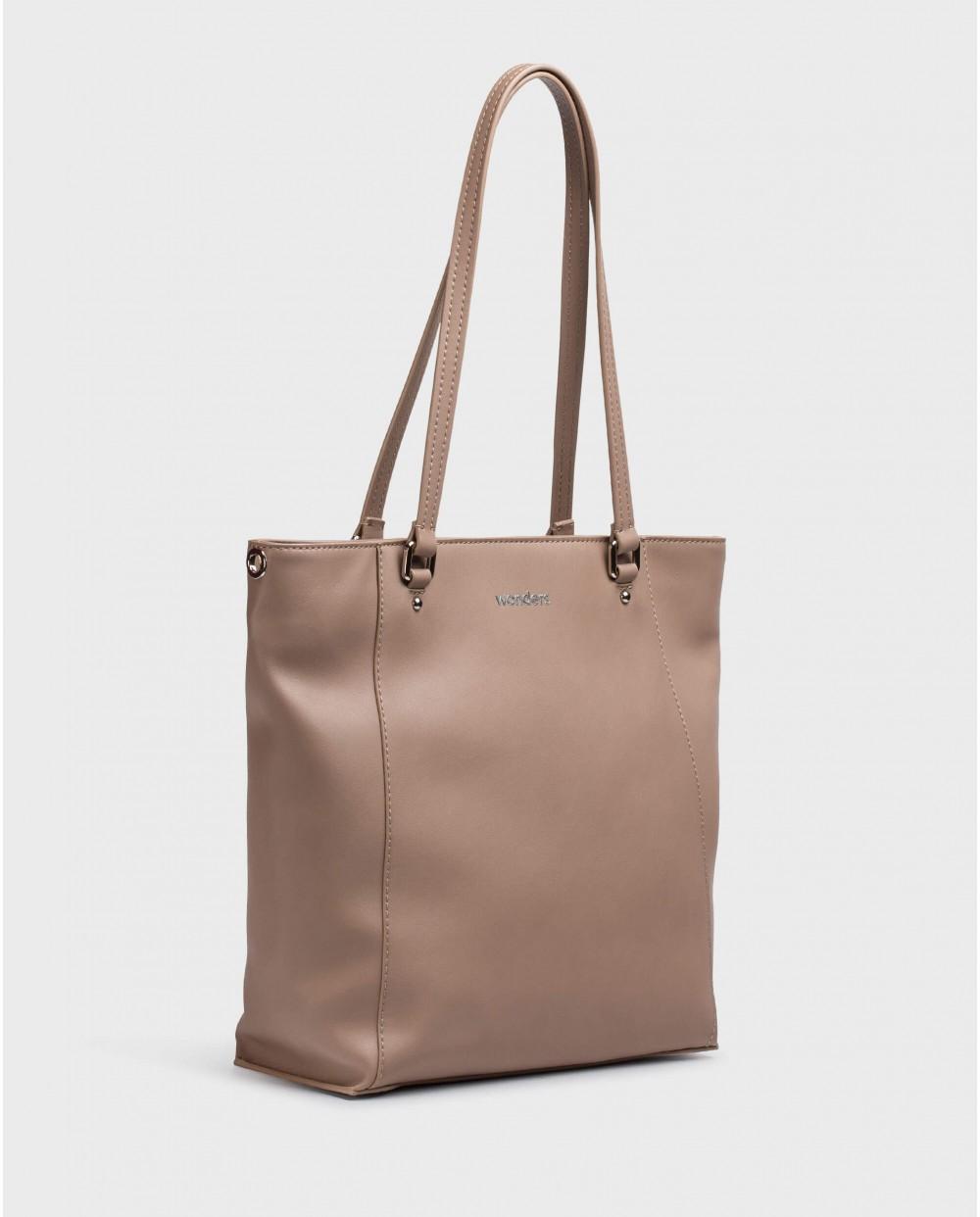 Wonders-Bags-Taupe Zuri Bag
