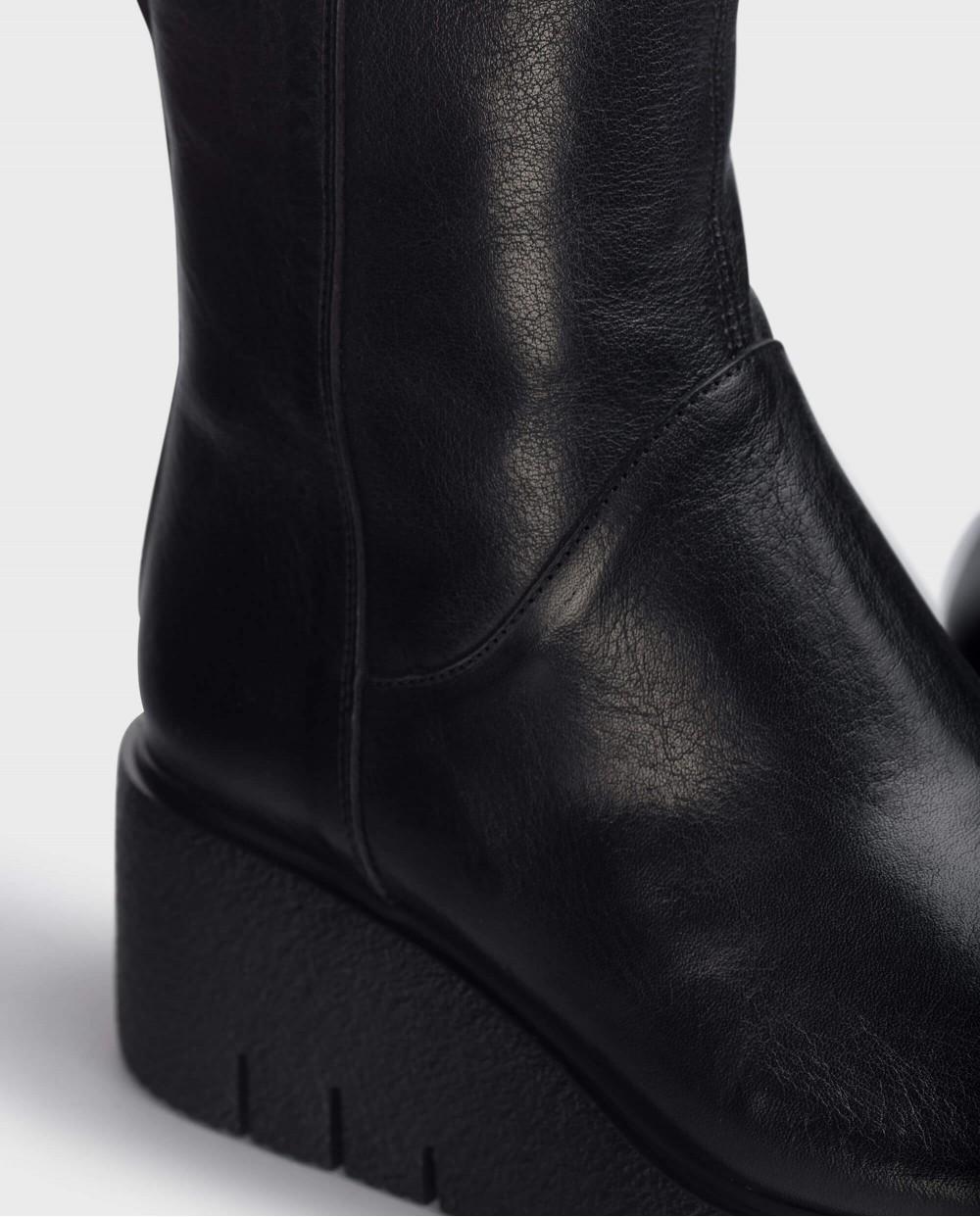 Black Aitana Ankle Boot