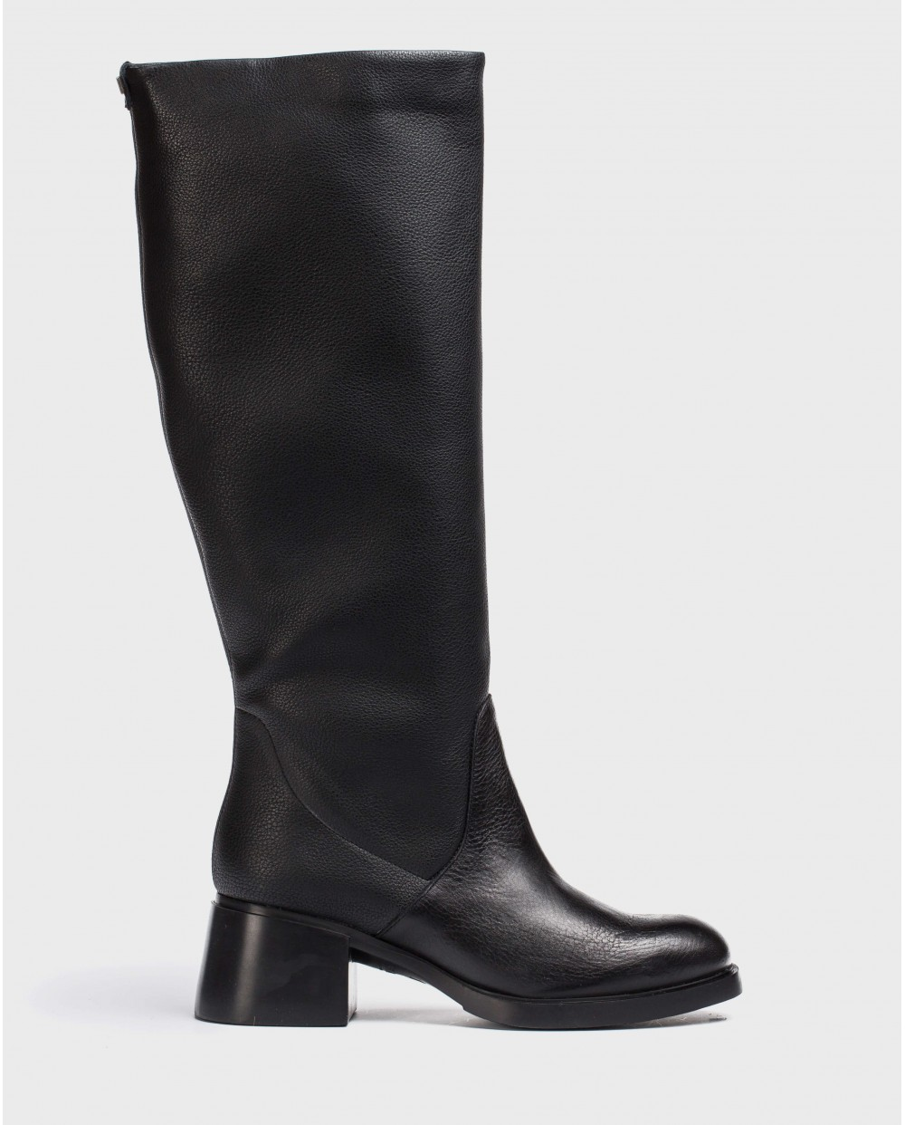 Black L.A Boot