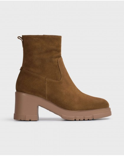 Wonders-Ankle Boots-Brown Moon