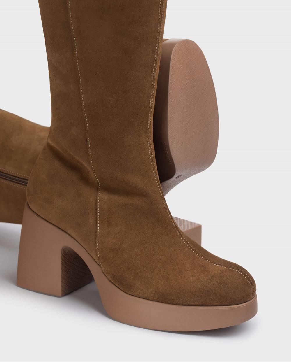 Brown boot Mayfair