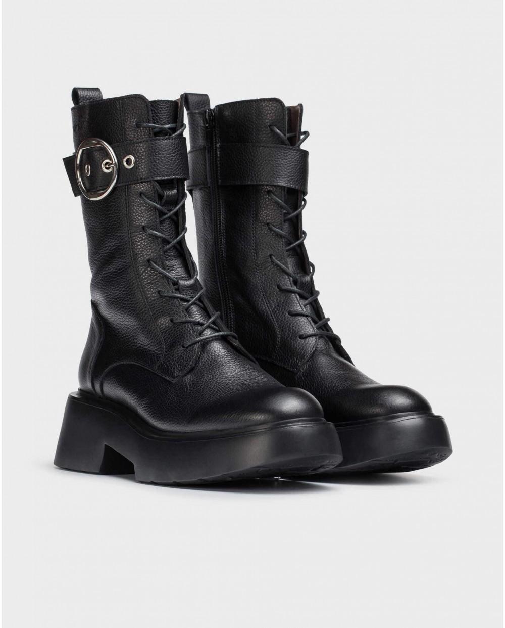 Black Punk Boot
