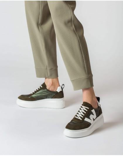 Wonders-Zapatos planos-Deportivo Flipa Kaki