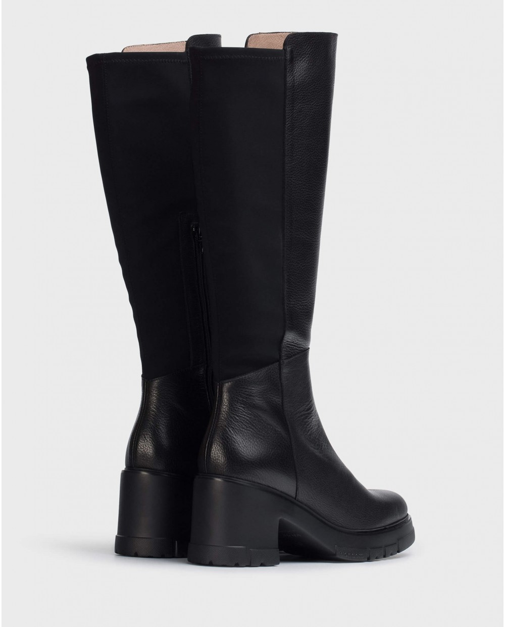 Wonders-Boots-Black boot Fifty