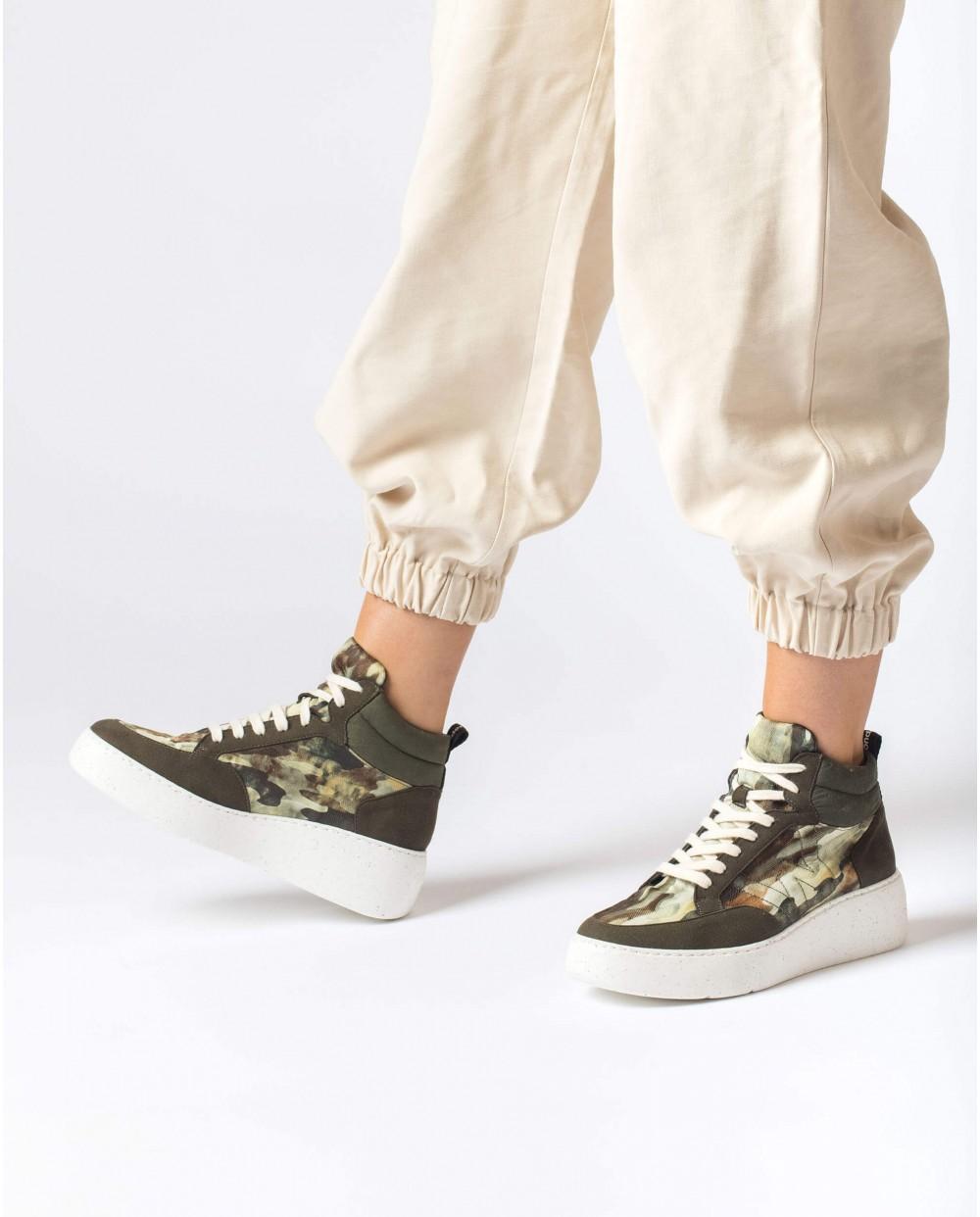 Green Vega Ankle boot