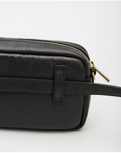 Wonders-Outlet-White leather Bum bag