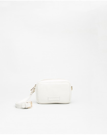 Wonders-Bags-White leather Bum bag