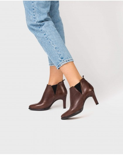 Wonders-Outlet-Heeled ankle boot