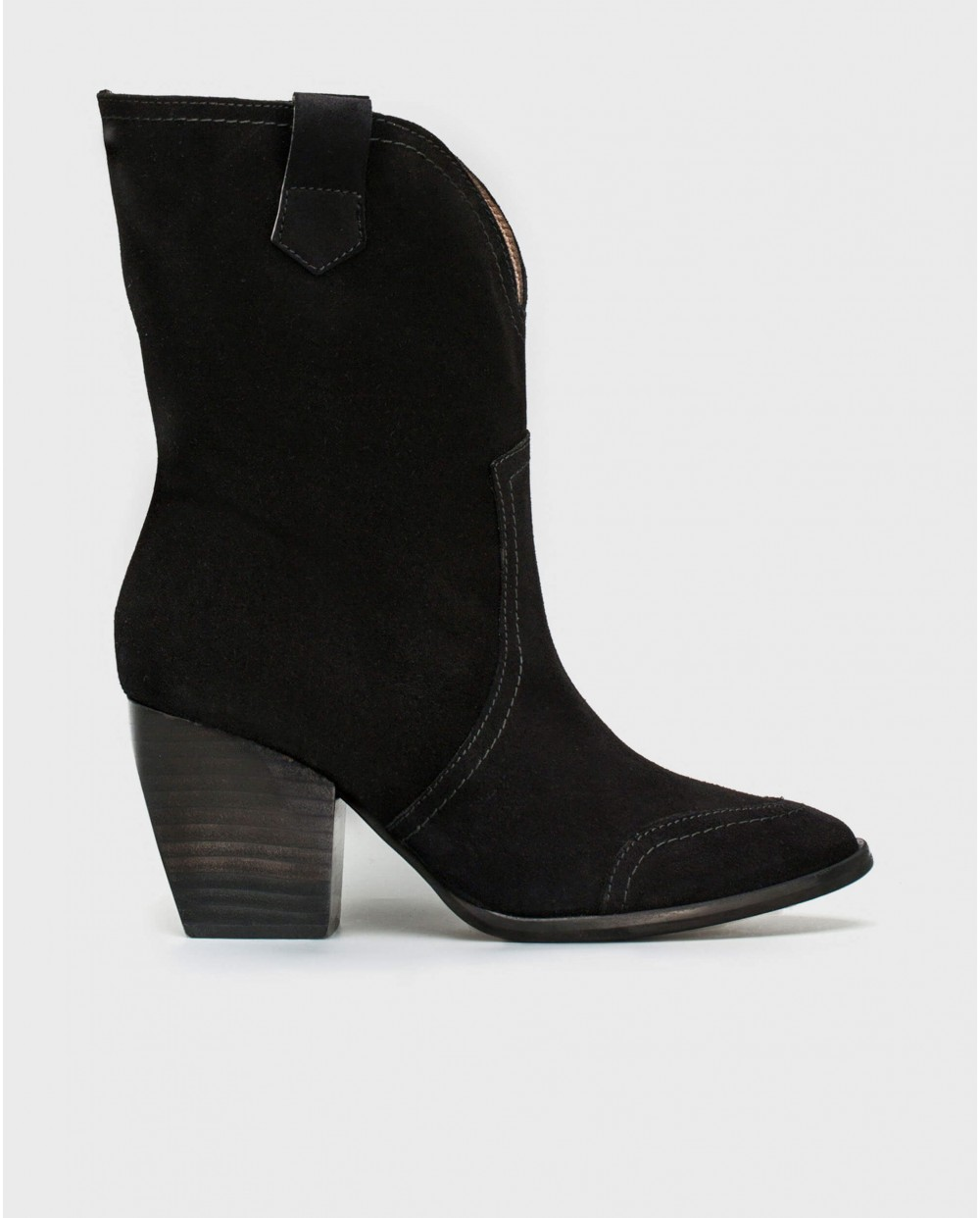 Wonders-Outlet Women-Leather waterproof 3/4 boot.