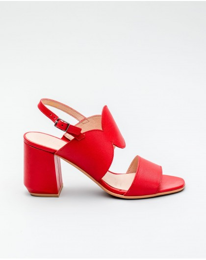 Wonders-Outlet Women-Sandal with leather heel