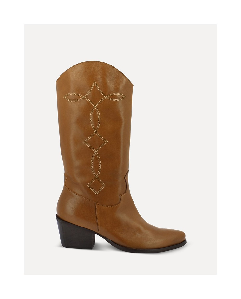 Wonders-Outlet-cowboy style mid/calf ankle boot