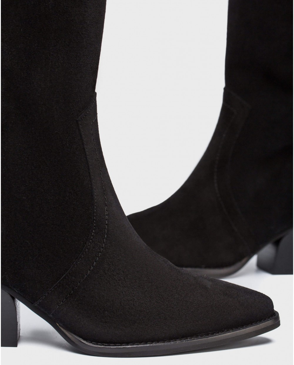 Wonders-Boots-Suede leather cowboy boot