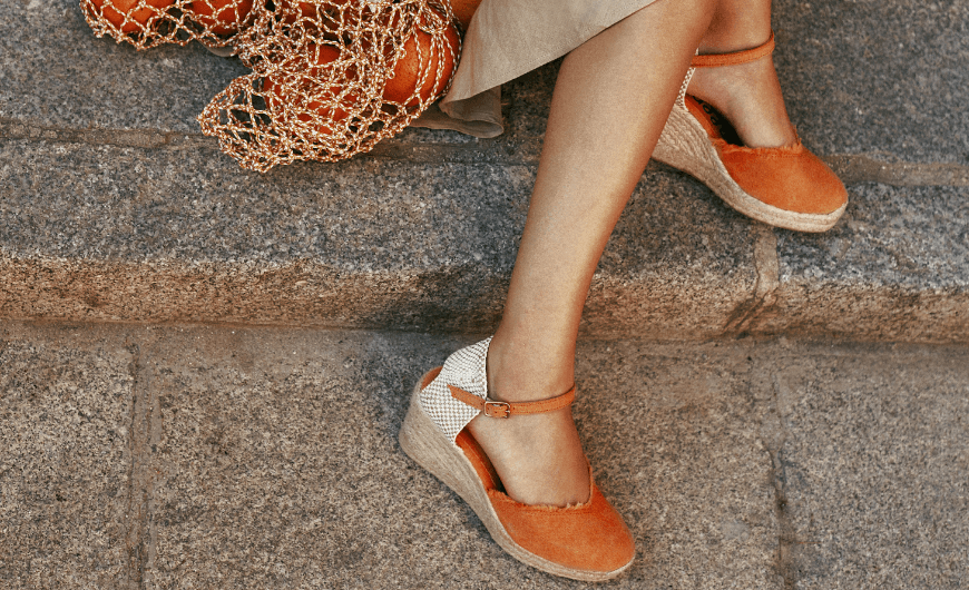 Wonders shoes   Made in Spain espadrilles with sustainable materials.