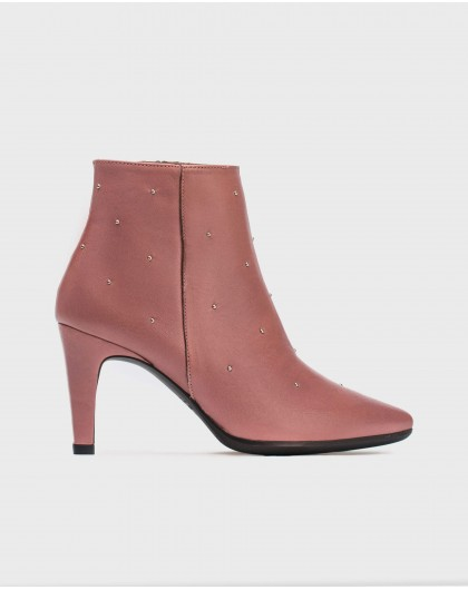 Wonders-Outlet-Ankle boot with metallic details