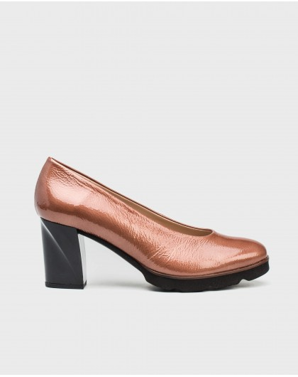 Wonders-Heels-Patent leathe high heeled shoe