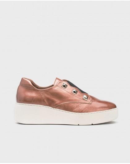 Wonders-Outlet-Sneaker with metallic detail