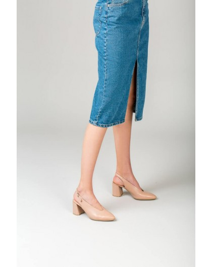 Wonders-Outlet-High heeled slingback