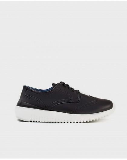 Wonders-Men-Leather Oxford style sneaker