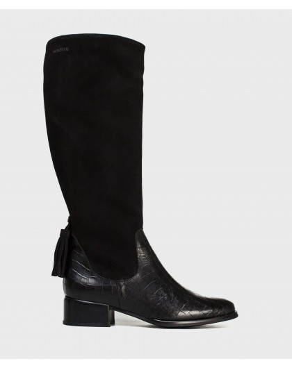 Wonders-Outlet-Boots with tassel detail